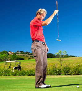 golfer male4 The Secret To A Masterful, Positive Mental Golf Psychology