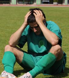 Devastated athlete