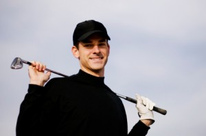 golfer blackshirt 300x199 Golf Psychology Tips: How To Deal With Irritating Golfers